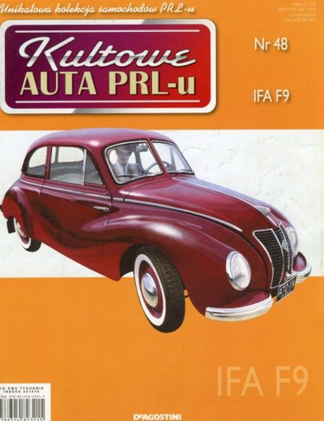 Kultowe Auta PRL-u - IFA F9