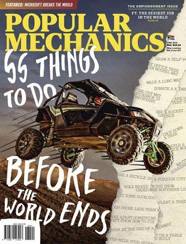 Popular Mechanics South Africa – June 2018