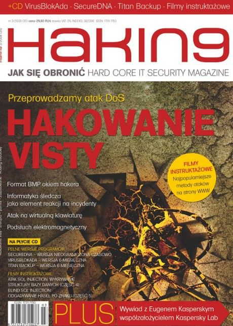 Haking Polska 35 / Hakin9 Polska 35