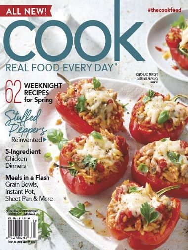 Cook: Real Food Every Day – Spring 2019