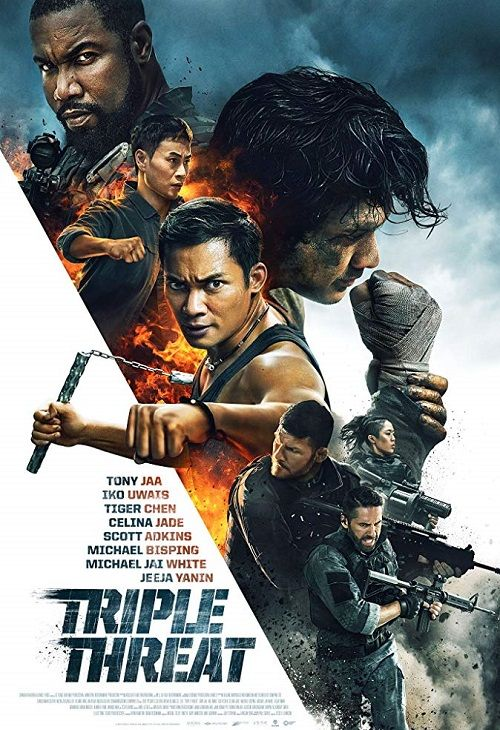Potrójne zagrożenie / Triple Threat (2019)  PL.BDRip.Xvid-KiT / Lektor PL