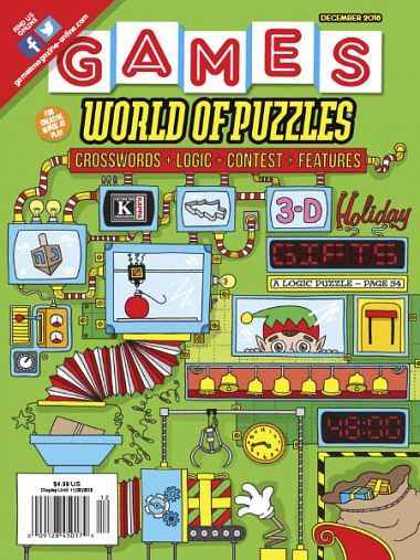 Games World of Puzzles – December 2018