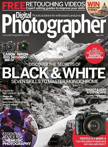 Digital Photographer – Issue 201, 2018