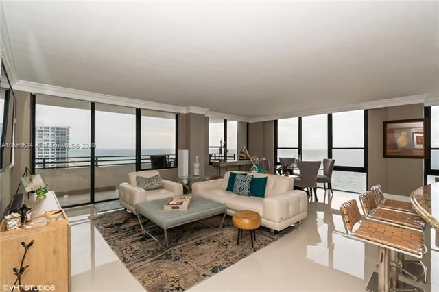 Alexander Towers for Sale - 3505 S Ocean Dr, Unit 1112, Hollywood 33019, photo 4 of 16