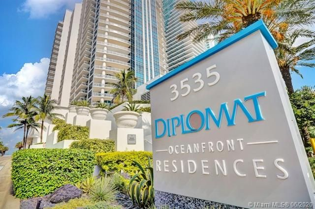 Diplomat Oceanfront Residences for Sale - 3535 S Ocean Dr, Unit 601, Hollywood 33019, photo 1 of 23