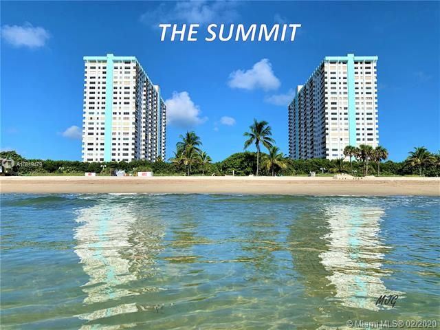 Summit for Sale - 1201 S Ocean Dr, Unit 1608N, Hollywood 33019, photo 1 of 37