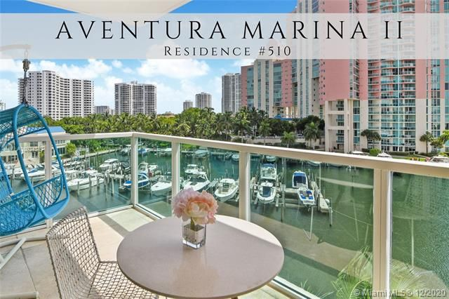 Aventura Marina for Sale - 3330 NE 190th St, Unit 510, Aventura 33180, photo 1 of 27