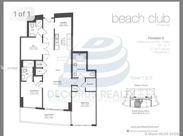 Beach Club I for Sale - 1850 S Ocean Dr, Unit 908, Hallandale 33009, photo 13 of 24