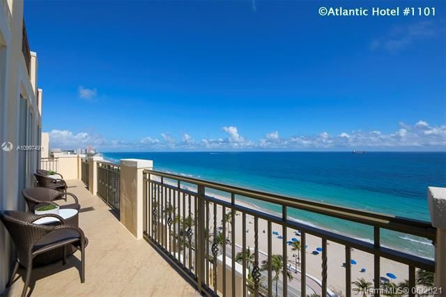 Atlantic Hotel Condominium for Sale - 601 N Fort Lauderdale Beach Blvd, Unit 1101, Fort Lauderdale 33304, photo 1 of 44