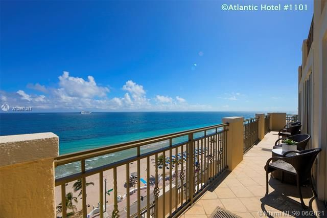 Atlantic Hotel Condominium for Sale - 601 N Fort Lauderdale Beach Blvd, Unit 1101, Fort Lauderdale 33304, photo 40 of 44