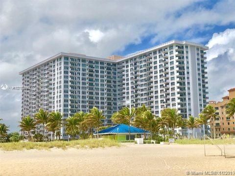 Parliament House for Sale - 405 N Ocean Blvd, Unit 615, Pompano Beach 33062, photo 1 of 17