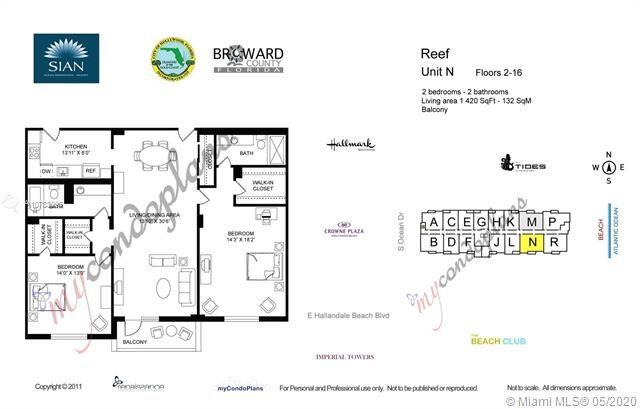 Sian Ocean Residences for Sale - 4001 S Ocean Dr, Unit 10N, Hollywood 33019, photo 25 of 25
