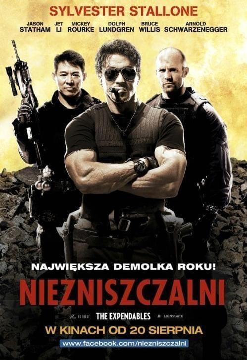 Expendables / Niezniszczalni (2010) PL.DVDRiP.XviD lektor polski
