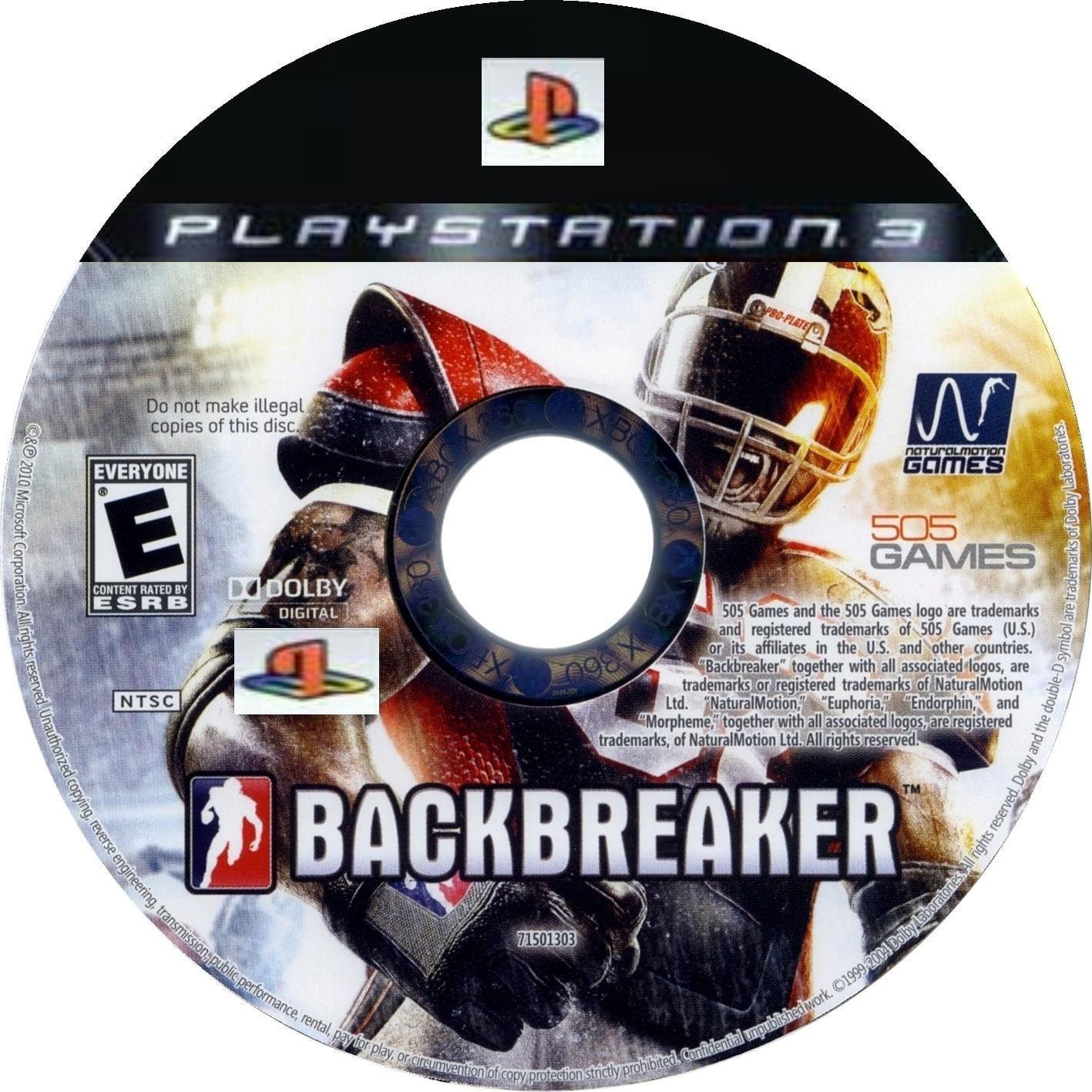 BACKBREAKER [2010][SPORT][PS3]