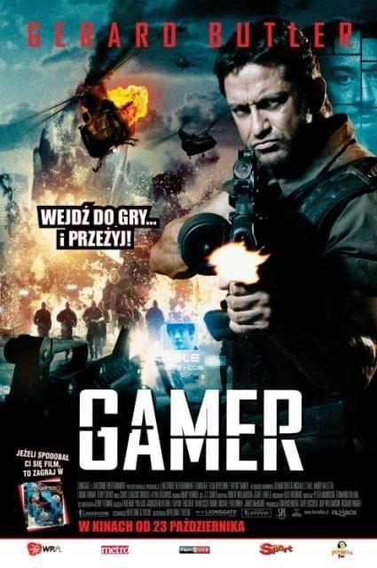 Niebezpieczna rozgrywka / Gamer (2009) PL.DVDRip.XviD-FiRMA