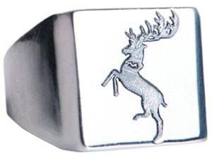 GAME OF THRONES, A -  BARATHEON RING (SIZE 10)