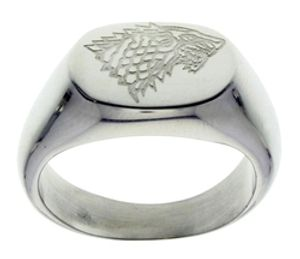 GAME OF THRONES, A -  RING STARK (SIZE 08)