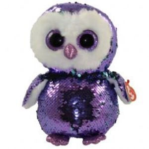 TY FLIPPABLES -  MOONLIGHT LE HIBOU (18 CM)