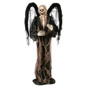 Decorations -  Winged Reaper - 6' Standing
