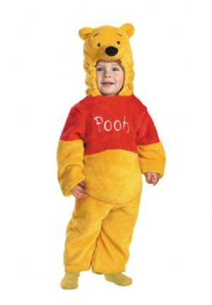 WINNIE THE POOH -  DELUXE POOH COSTUME (TODDLER - SMALL 2)
