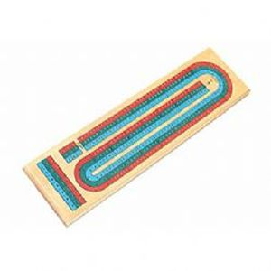 CRIBBAGE -  DELUXE CRIBBAGE 3 (2 TO 6 PLAYERS)