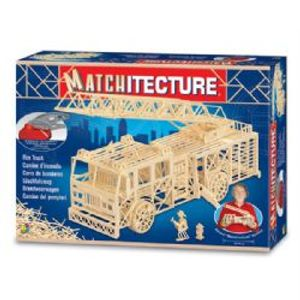 MATCHITECTURE -  FIRE TRUCK (1500 MICROBEAMS)