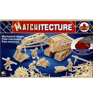 MATCHITECTURE -  MECHANICAL DIGGER (700 MICROBEAMS)