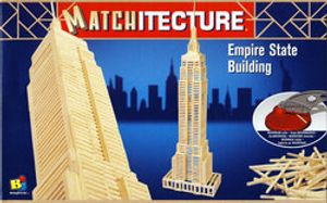 MATCHITECTURE -  EMPIRE STATE BUILDING (650 MICROBEAMS)
