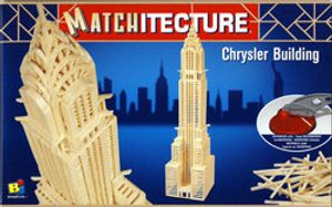 MATCHITECTURE -  CHRYSLER BUILDING (850 MICROBEAMS)