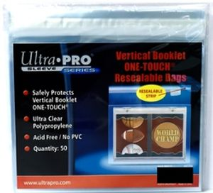 ULTRA PRO -  VERTICAL BOOKLET
