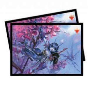 POCHETTES TAILLE STANDARD -  MTG ULTIMATE MASTERS - BITTER BLOSSOM (100)