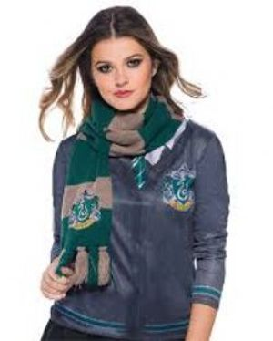 HARRY POTTER -  FOULARD DELUXE SERPENTARD