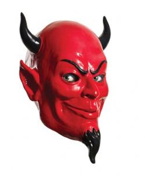 SCREAM QUEENS -  MASQUE DE DIABLE EN LATEX