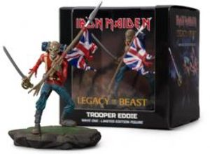 IRON MAIDEN -  FIGURINE EN VINYLE DE TROOPER EDDIE (10CM) -  LEGACY OF THE BEAST