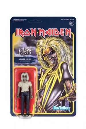 IRON MAIDEN -  FIGURINE REACTION  KILLERS EDDIE (10CM) -  KILLERS