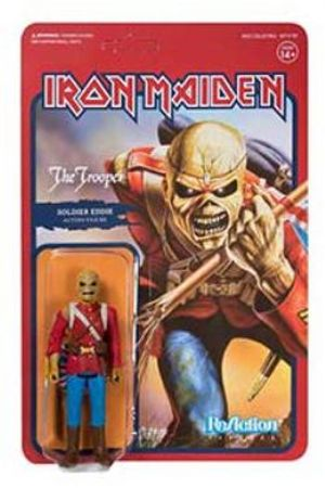 IRON MAIDEN -  FIGURINE REACTION SOLDAT EDDIE (10CM) -  TROOPER