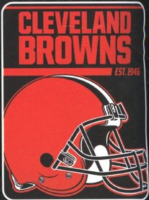 CLEVELAND BROWNS -  SUPER SOFT THROW (46
