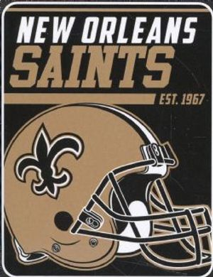 NEW ORLEANS SAINTS -  SUPER SOFT THROW (46