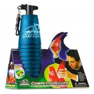 SPORT STACKING -  CUP STACKING COMPETITION CUPS (12) - BLUE