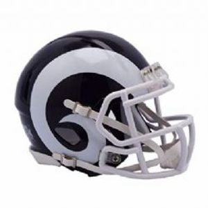 RAMS DE LOS ANGELES -  MINI RÉPLIQUE DE CASQUE