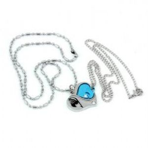 FAIRY TAIL -  DOUBLE HEART NECKLACE