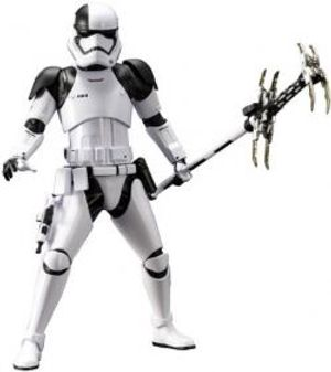 STAR WARS -  FIRST ORDER STORMTROOPER EXECUTIONER ARTFX STATUE (7INCH) -  STAR WARS E8 LAST JEDI