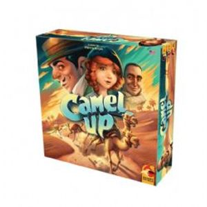 CAMEL UP -  PRÉCOMMANDE - JEU DE BASE (MULTILINGUE) -  2E EDITION