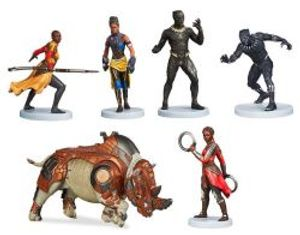 BLACK PANTHER -  -FIGURINE SET