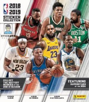 2018-19 BASKETBALL -  ALBUM D'AUTOCOLLANTS PANINI NBA