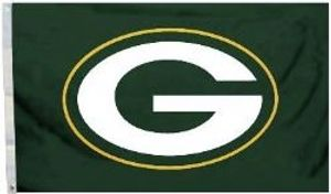 GREEN BAY PACKERS -  3' X 5' HORIZONTAL FLAG