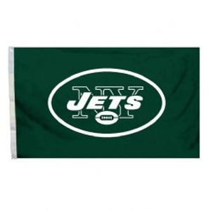 NEW YORK JETS -  3' X 5' HORIZONTAL FLAG