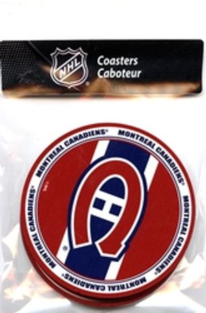 MONTREAL CANADIENS -  4 PACK COASTER SET