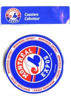 MONTREAL EXPOS -  4 PACK COASTER SET