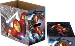 200 IRON MAN COMICS CARDBOARD BOX